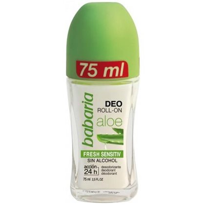 Imagens de Babaria Desodorizante Roll On 75ml Fresh Sensitive