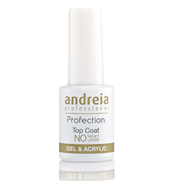 Picture of Andreia Profection Top Coat for Gel & Acrylic (No Tacky Layer) 10,5ml - Acrilico