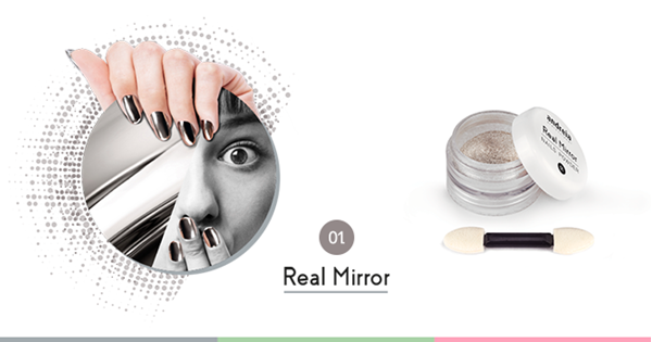 Picture of Andreia Nails Powder Real Mirror