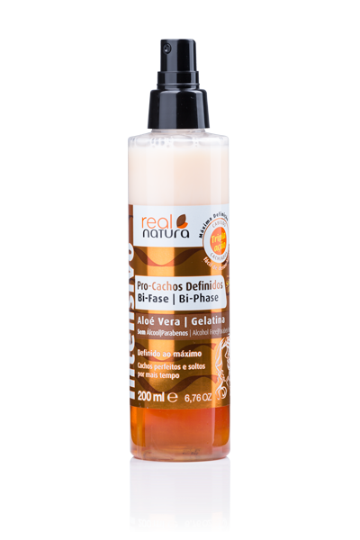 Picture of Real Natura Humidificador Caracóis Spray Bifasico 200ml