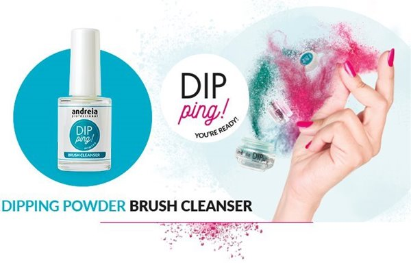 Picture of Andreia Dipping Brush Cleanser 14ml