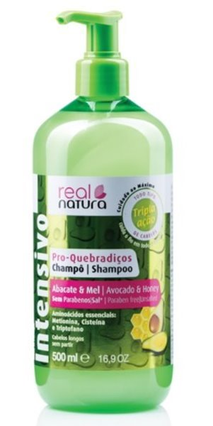 Picture of Real Natura Shampoo Abacate e Mel 500ml