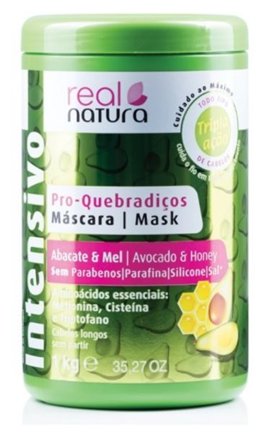 Picture of Real Natura Máscara Abacate e Mel Kg
