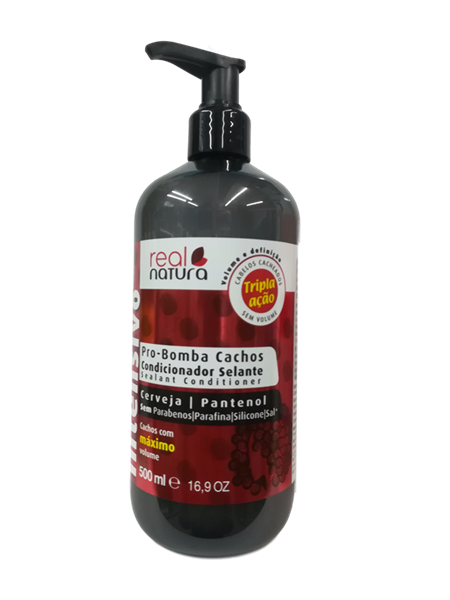 Picture of Real Natura Condicionador Pro Bomba Cachos 500ml