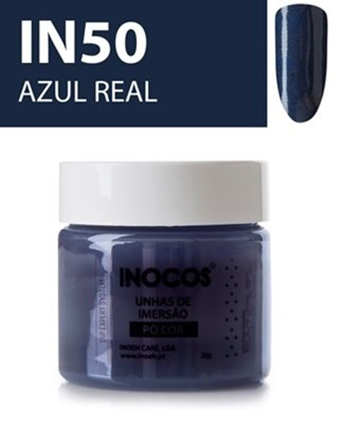 Picture of INOCOS PÓ UNHAS DE IMERSÃO  DIP SYSTEM  IN50  AZUL REAL  26gr