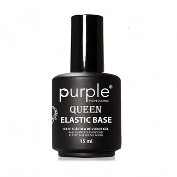 Picture of Purple Elastic Base Clear 15ml