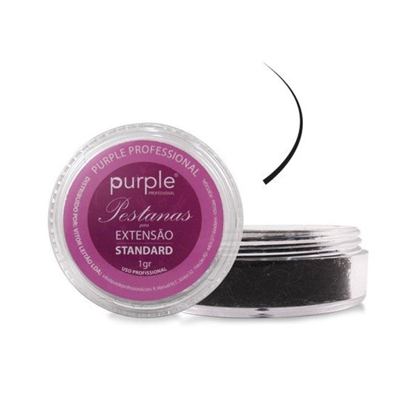Picture of Purple Pestanas Standard D 0,15/7mm   P1328
