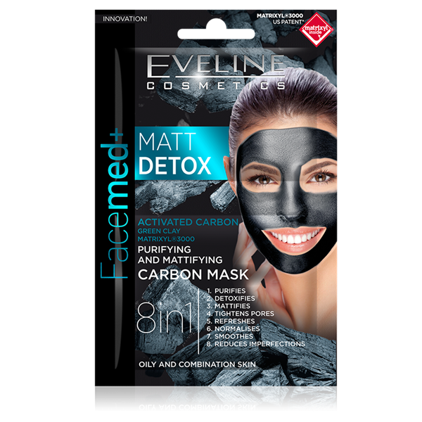 Picture of Eveline Máscara Facial Matt DETTOX Purificadora e Matificante
