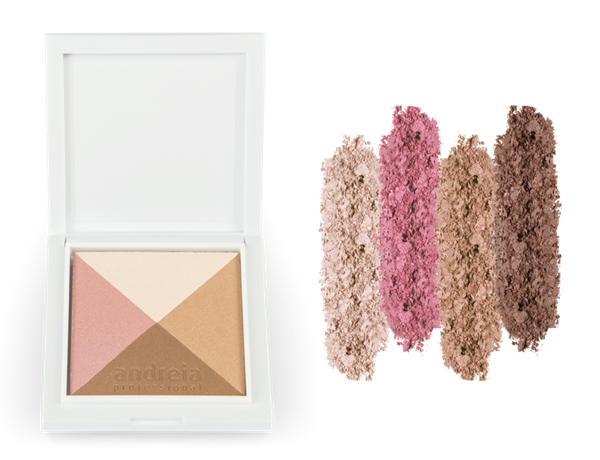 Picture of Maquilhagem Andreia Face HEY! SCULPT MY FACE! - Easy Contour Palette Glow - 02