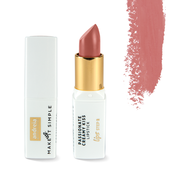 Picture of Maquilhagem Andreia Lips PASSIONATE CREAMY KISS - Lipstick 01