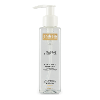 Imagens de Maquilhagem Andreia Essentials CAN'T LIVE WITHOUT - Everyday Micellar Water 150ml