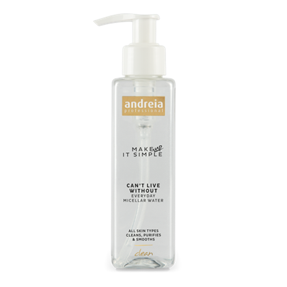 Imagens de Andreia Essentials CAN'T LIVE WITHOUT - Everyday Micellar Water 150ml
