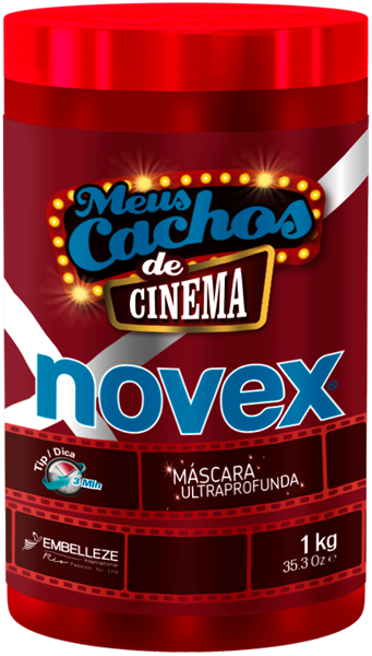 Picture of Novex Meus Cachos de Cinema Máscara Kg