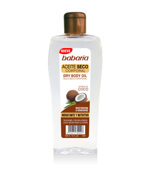 Picture of Babaria óleo corporal de Coco dry  300ml
