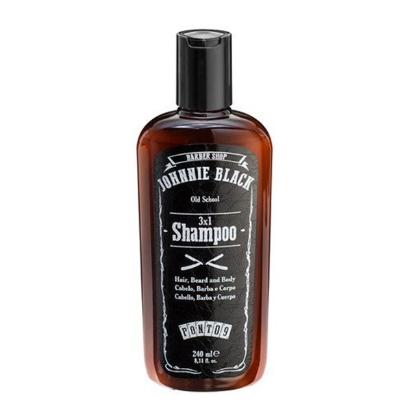 Picture of Johnnie Black Shampo 3x1 Cabelo/Barba/Corpo 240ml