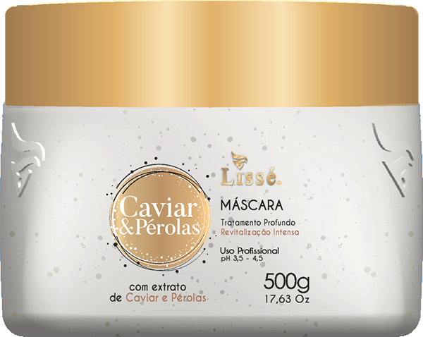 Picture of LISSÉ CAVIAR E PEROLAS HOME CARE MASCARA - 500 GR