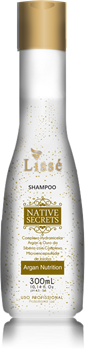 Imagens de LISSÉ NATIVE SECRETS ARGAN HOME CARE SHAMPOO - 300 ML