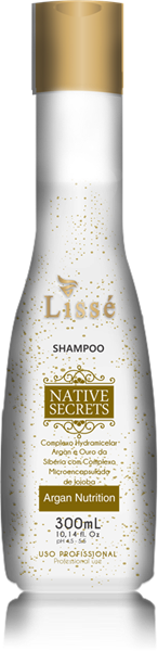 Picture of LISSÉ NATIVE SECRETS ARGAN HOME CARE SHAMPOO - 300 ML