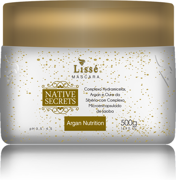 Picture of LISSÉ NATIVE SECRETS ARGAN HOME CARE MASCARA - 500 G