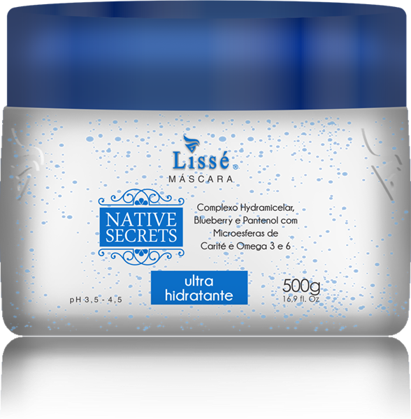 Picture of LISSÉ NATIVE SECRETS ULTRA HIDRATANTE HOME CARE MASCARA - 500 G