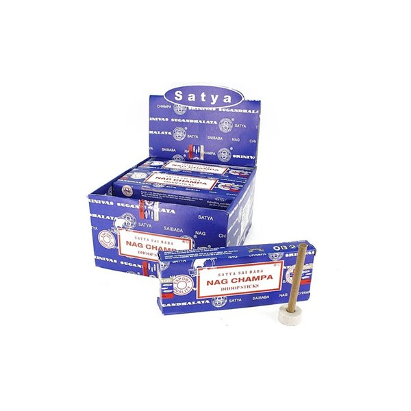 Picture of Incenso Nag Champa Dhoop (Sticks) pack de 12 Sticks