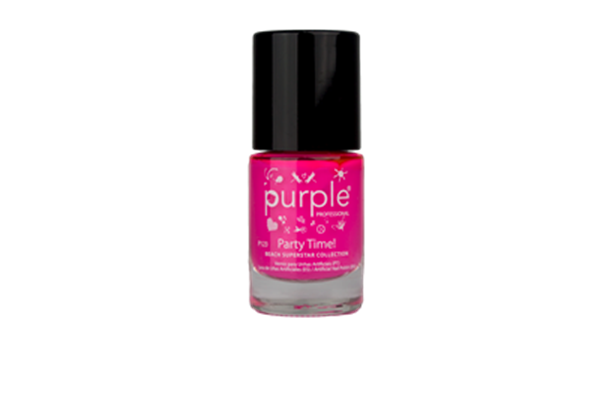 Picture of Purple Verniz nº 123 Party Time (Beach Superstar) 10 ml P123