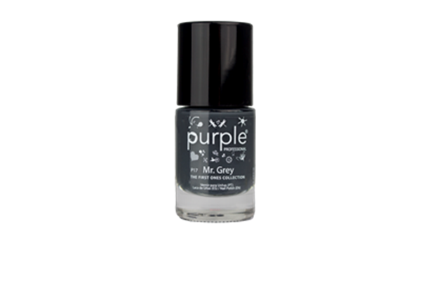 Picture of Purple Verniz nº17 Mr. Grey (The First Ones)  10 ml P17