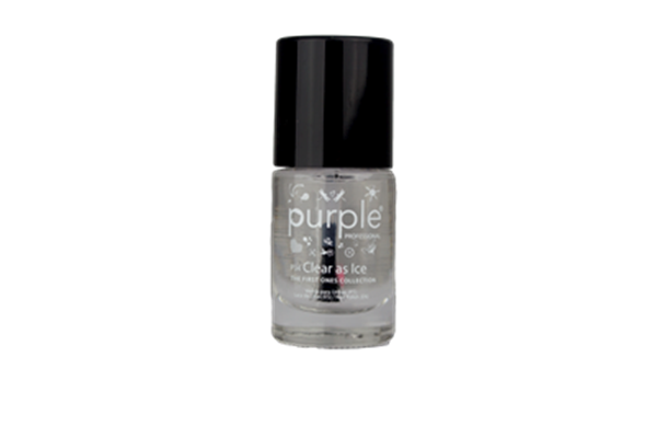 Picture of Purple Verniz nº34 Clear As Ice (The First Ones) 10 ml P34