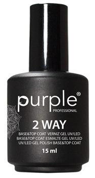 Imagens de Purple Base Top Coat 2 Way 15ml