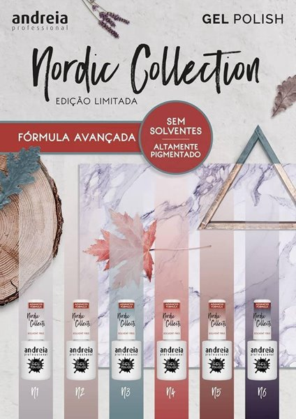 Picture of Verniz Gel Andreia Nordic Collection Pack de 6