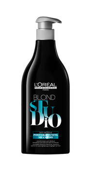 Imagens de Loreal Blond Studio Post Lightening Shampoo 500ml