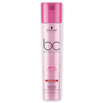 Imagens de SCHWARZKOPF BC PH 4.5 COLOR FREEZE SHAMPOO VIBRANT RED 250ML