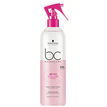 Imagens de SCHWARZKOPF BC PH 4.5 COLOR FREEZE SPRAY CONDICIONADOR 400ML