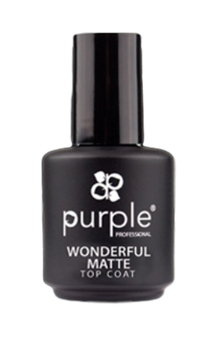 Imagens de Purple Top Coat Wonderful Matte 15ml