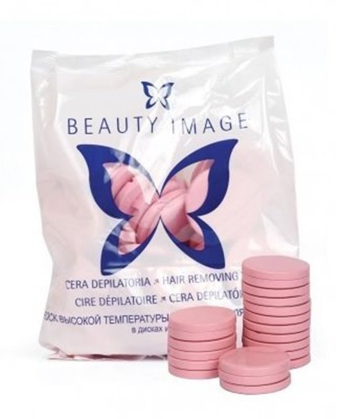 Picture of Beauty Image Cera Disco Rosa 7 Kgs
