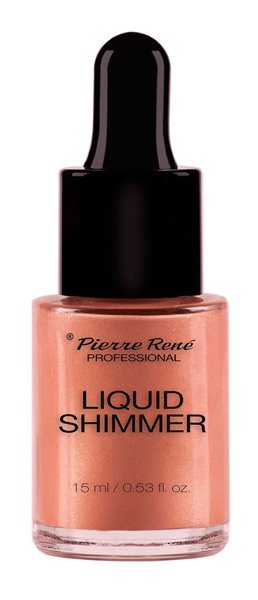 Picture of Maquilhagem Pierre René Liquid Shimmer 02 Rose Gold