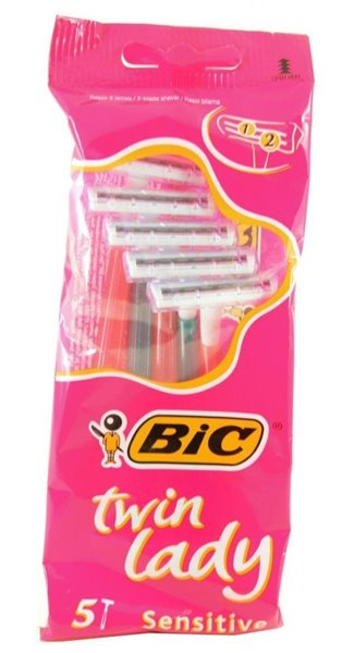 Picture of BIC Lâminas Twin Lady Sensitive com 5