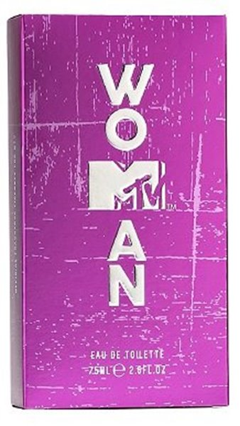 Picture of MTV  Woman MTV eau de toilette natural spray 75ml