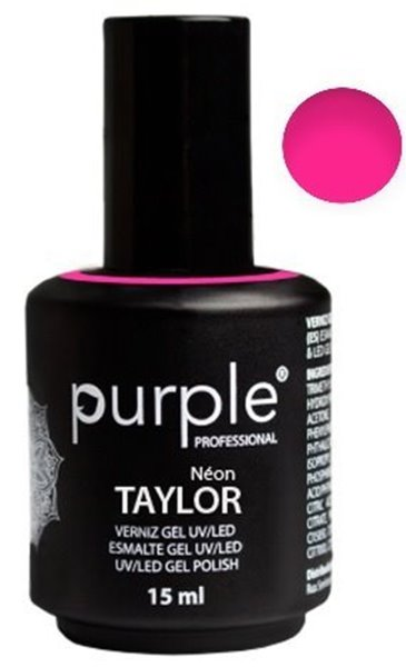 Picture of Purple Verniz Gel Taylor 15ml