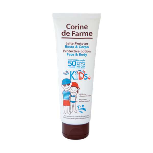 Picture of Corine de Farme Leite protetor Rosto & Corpo FPS 50 KIDS 125ml