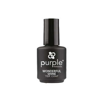 Imagens de Purple Top Coat Extra Brilho Wonderful Shine 15ml