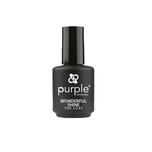 Picture of Purple Top Coat Extra Brilho Wonderful Shine 15ml