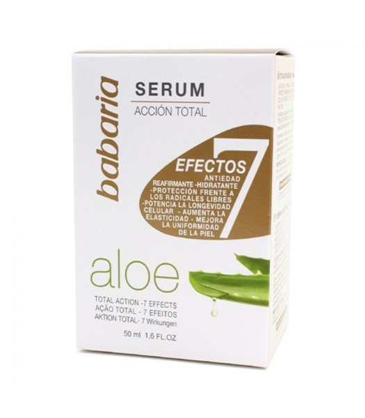 Picture of Creme Facial 7 Efeitos Ação Total Aloe Vera 50ml Babaria