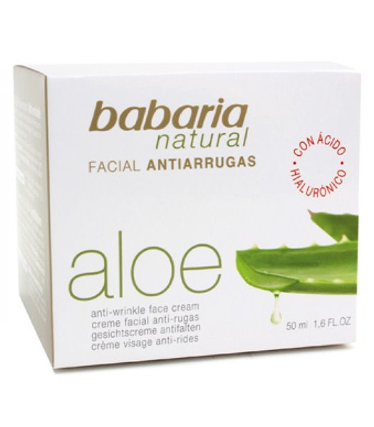Picture of Creme Facial Anti Rugas Aloe Vera 50ml Babaria