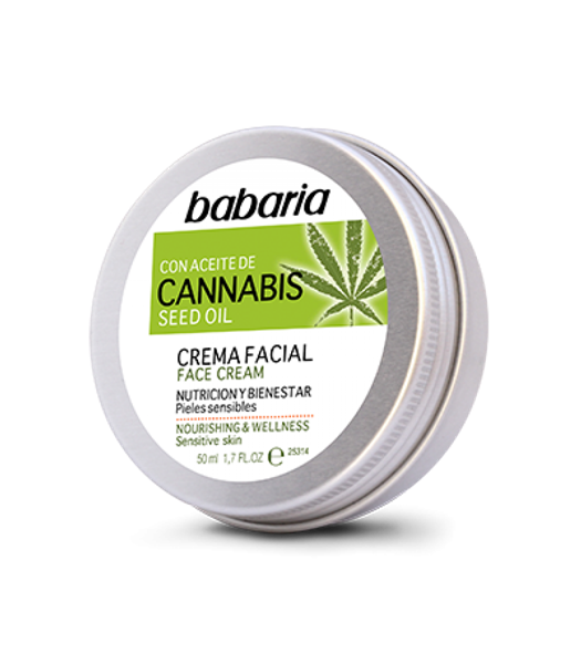 Picture of Creme Facial Cannabis 50ml Babaria