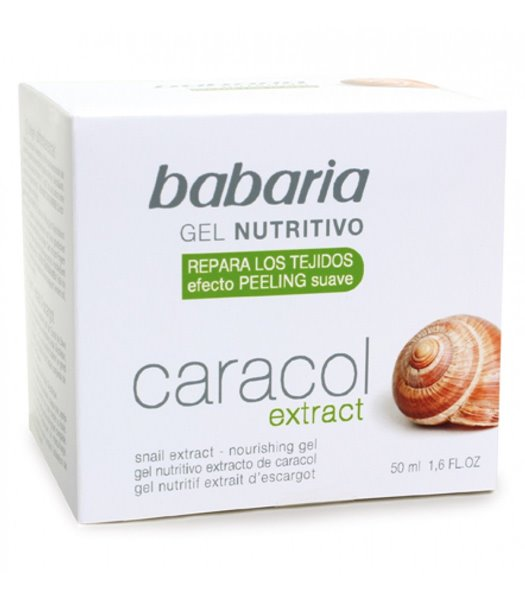 Picture of Gel Facial Nutritivo Extrato Caracol 50ml Babaria