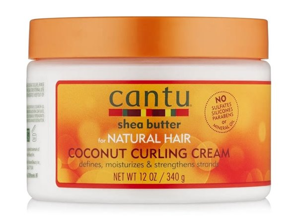 Picture of Cantu Natural Hair Coconut Curling Cream 12oz