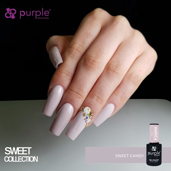 Picture of Purple Verniz Gel Sweet Candy 10 ml Ref. P2000