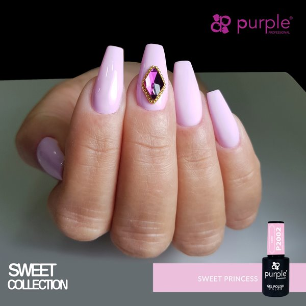Picture of Purple Verniz Gel Sweet Princess 10 ml Ref. P2002