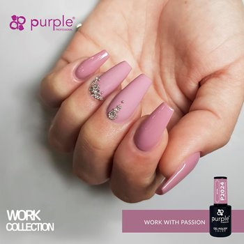 Imagens de Purple Verniz Gel Work With Passion 10 ml Ref. P2024
